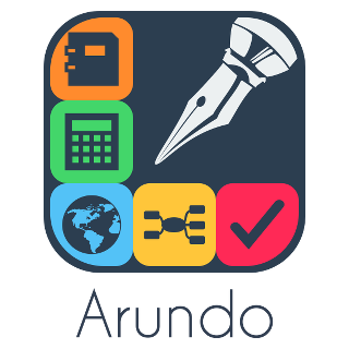 Arundo Logo (with name underneath)